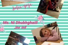 Ms Ni Dhubhghaill's Junior Infant Class