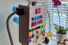 Maxym made this brilliant 3D shape robot