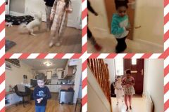 Annalyn McCourt, Beldi Nzau, Nathan Ryan and Jasmine Monte from Junior Infants
