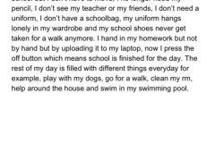 Emma Maher Corcoran from 5th Class with a great piece of writing
