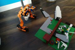 Maks Gornicki from 4th Class made a lego project